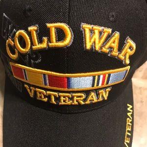 Cold War Veteran Cap, Black